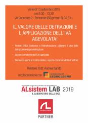 Il valore delle detrazioni ed IVA agevolata (13.09.19) - ALSISTEM LAB 2019.jpg