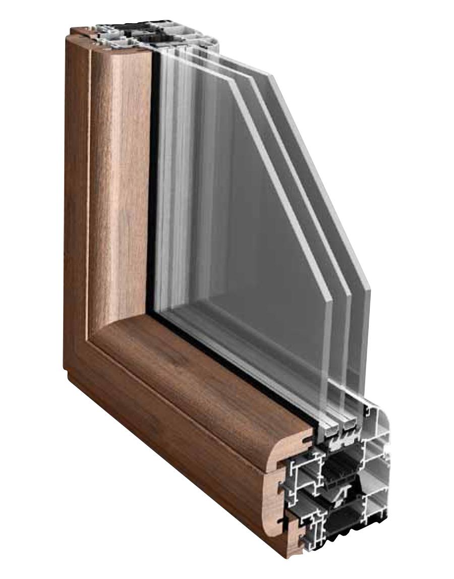 Infissi legno alluminio finestre in alluminio e legno - Finestre legno e alluminio ...