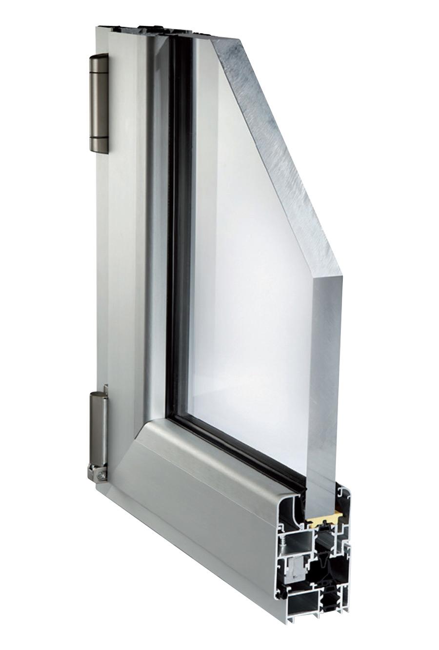 Serramenti alluminio taglio termico profili per finestre for Prezzi serramenti