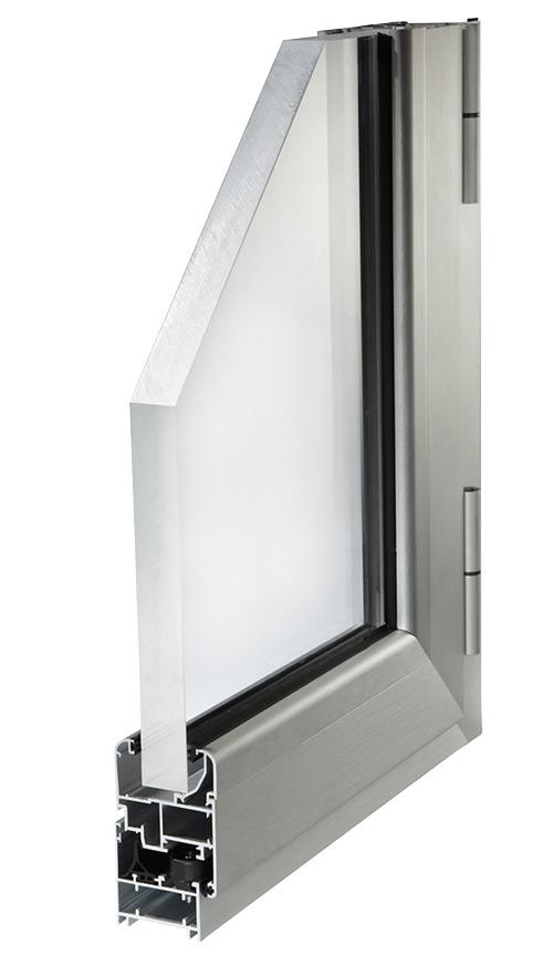 Finestre in alluminio serramenti vasistas profili per - Profili alluminio per finestre ...