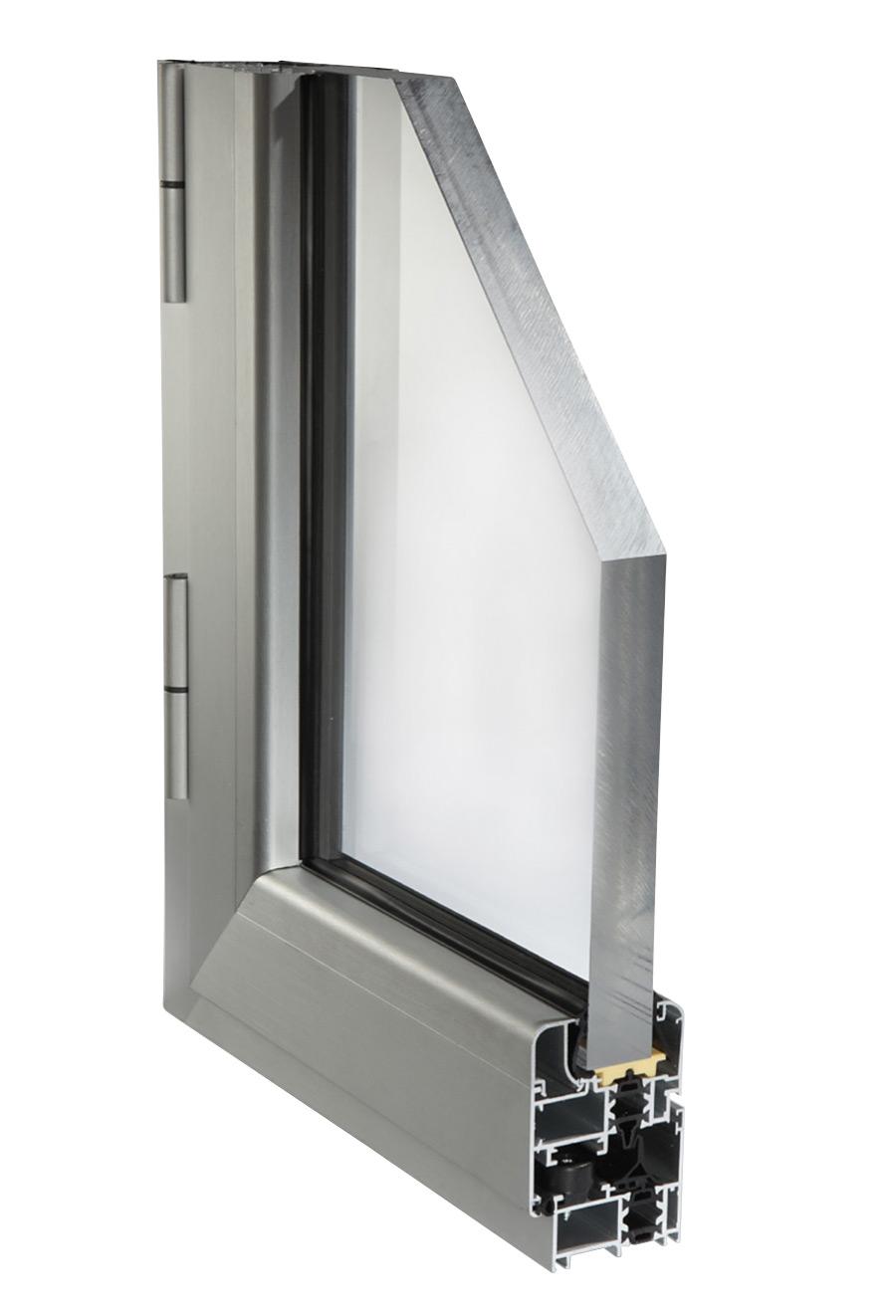 Profili alluminio per finestre serramenti a taglio termico for Scheda tecnica anta ribalta giesse