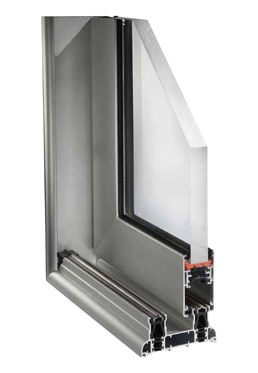 Serramenti a scomparsa porte finestre scorrevoli alluminio for Scheda tecnica anta ribalta giesse