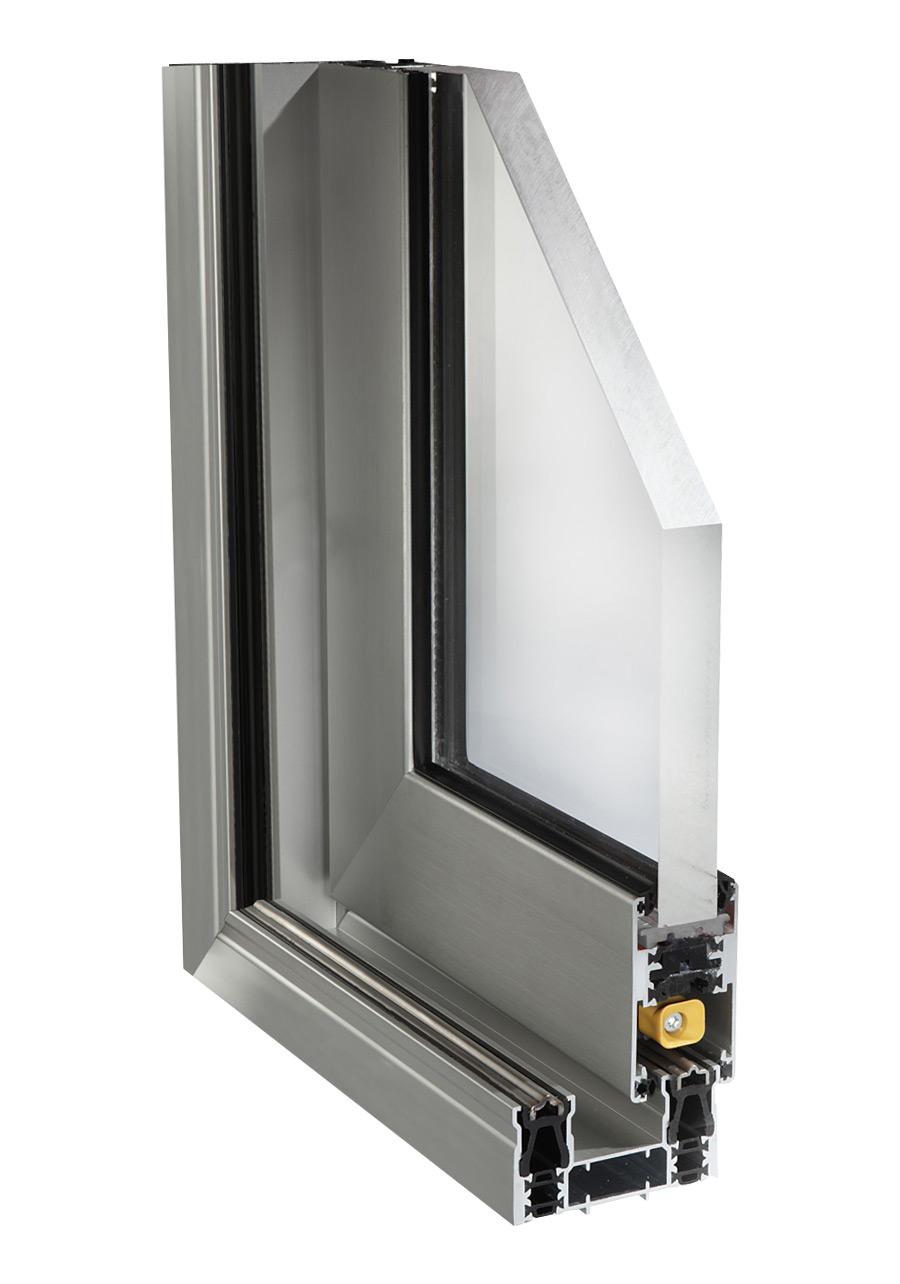 Porte scorrevoli alluminio finestre a scomparsa alca - Profili alluminio per finestre ...