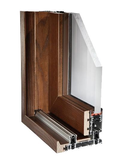 Finestre scorrevoli legno alluminio sistemi a scomparsa - Finestre scorrevoli in legno ...